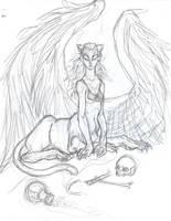 sphinx by drakonarinka
