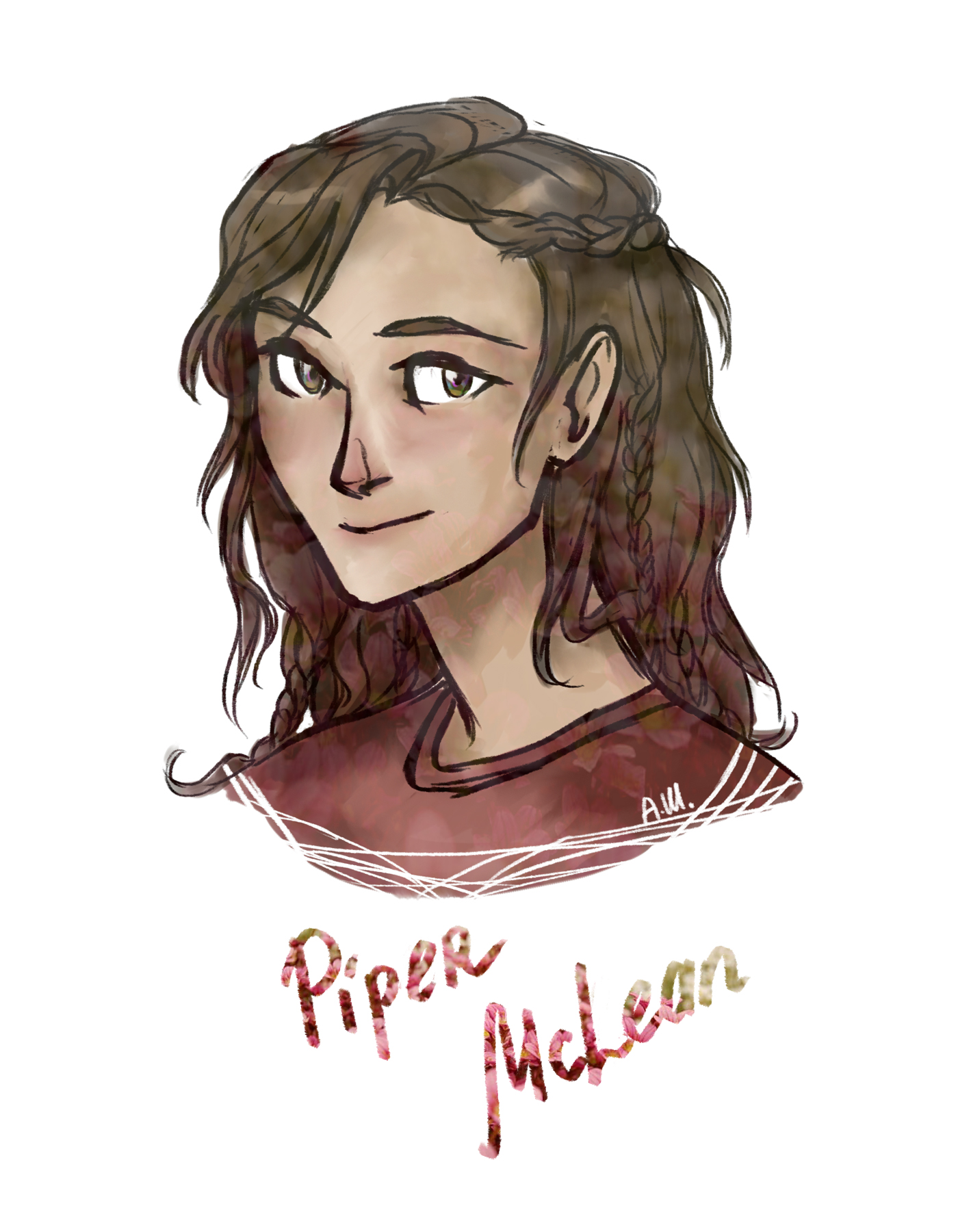 The Mark Of Athena Fan Art Days Of The Heroes Of Olimpus Piper Mclean