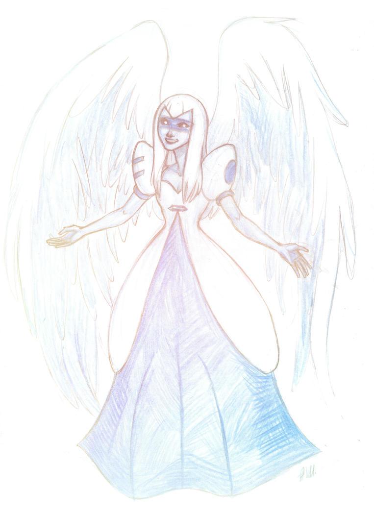 guardian angel by drakonarinka