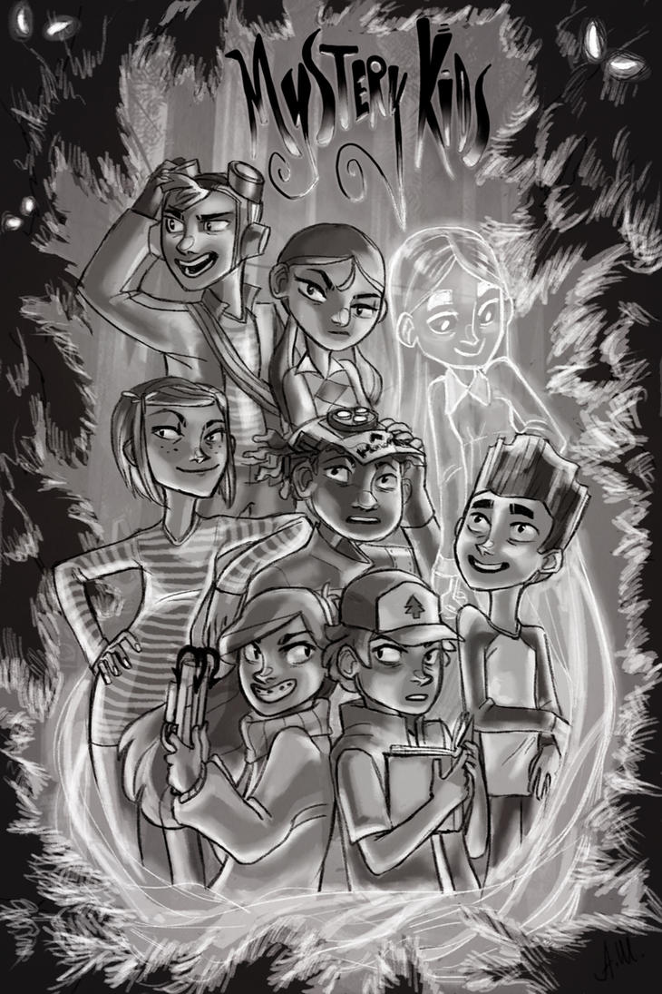 Mystery Kids by drakonarinka
