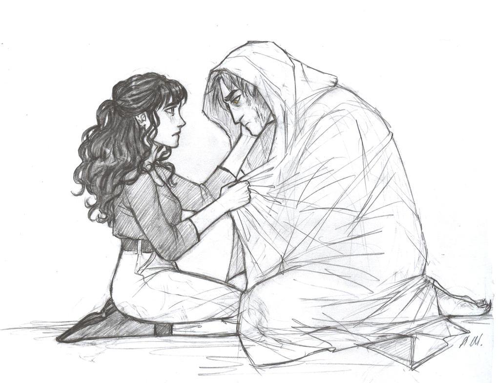 Kate and Joshua by drakonarinka
