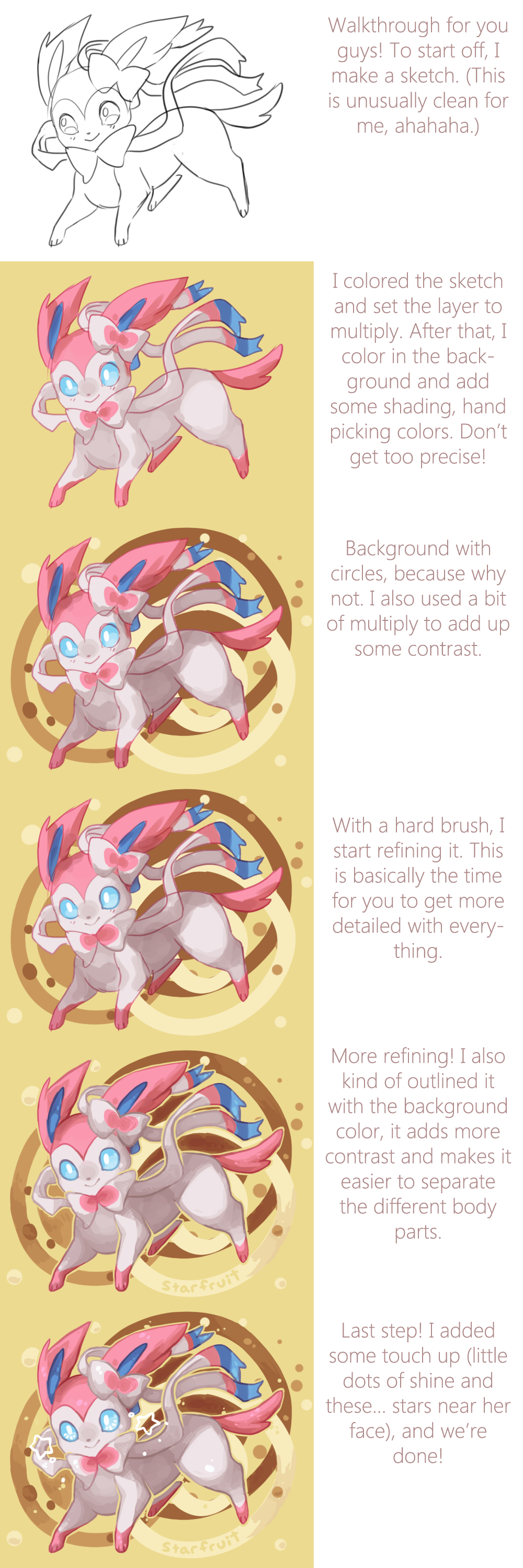 Sylveon Walkthrough by JAYWlNG
