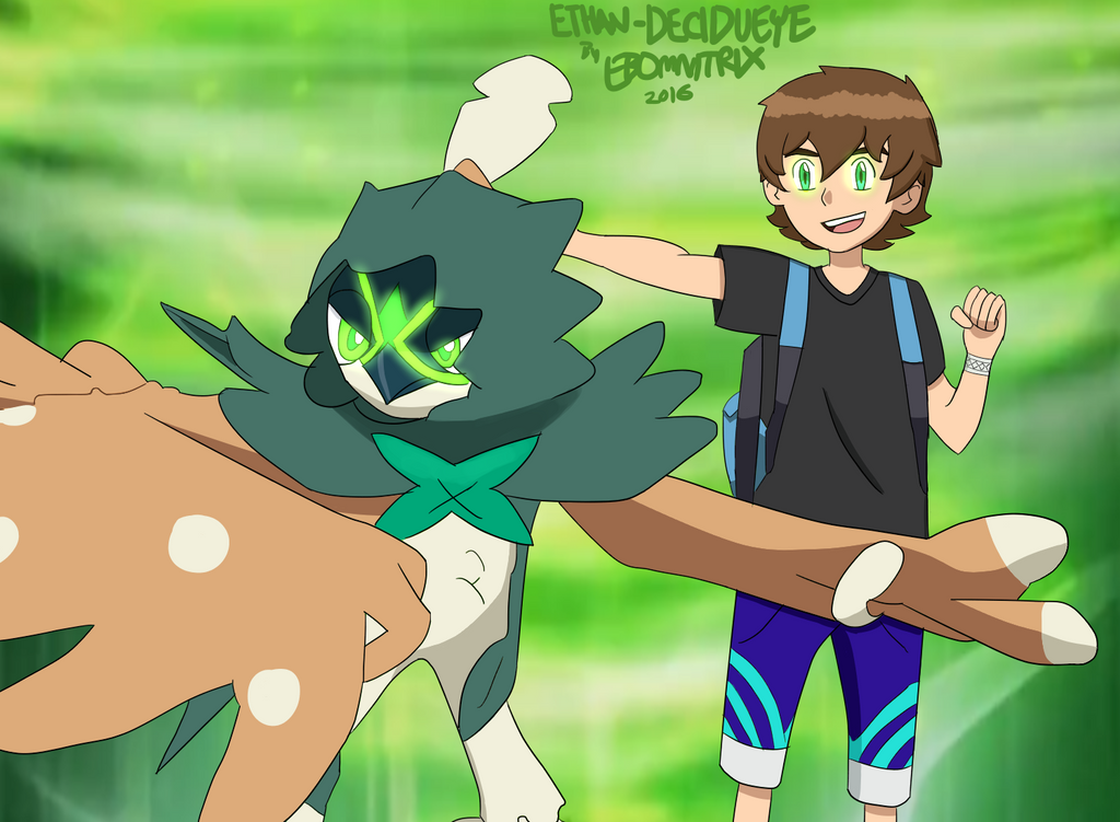Decidueye Pokemon Fan Art Images