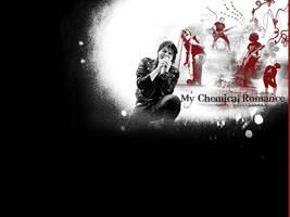 My Chemical Romance Wallpaper by evilrikku