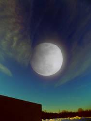 Moon Double Exposure 1823