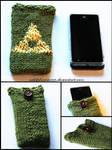 Triforce Cellphone Cozy