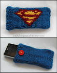Superman Cellphone Cozy