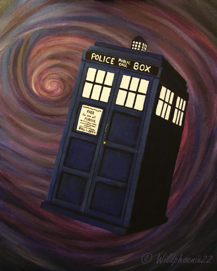 Wibbly Wobbly TARDIS by Wildphoenix22
