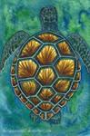 Green Sea Turtle by Wildphoenix22