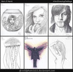 365 Drawing Challenge - Best of March by Wildphoenix22