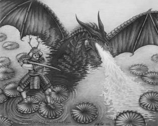 Dragon Samurai by Wildphoenix22