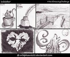 365 Drawing Challenge - Inktober