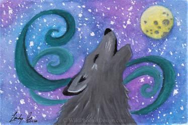 Howling Galaxy by Wildphoenix22