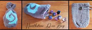 Hearthstone Dice Bag by Wildphoenix22
