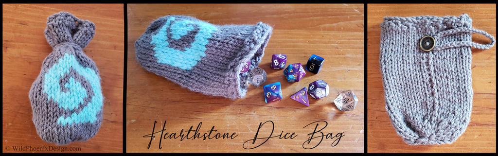 Hearthstone Dice Bag