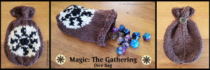 Plains MTG Dice Bag by Wildphoenix22