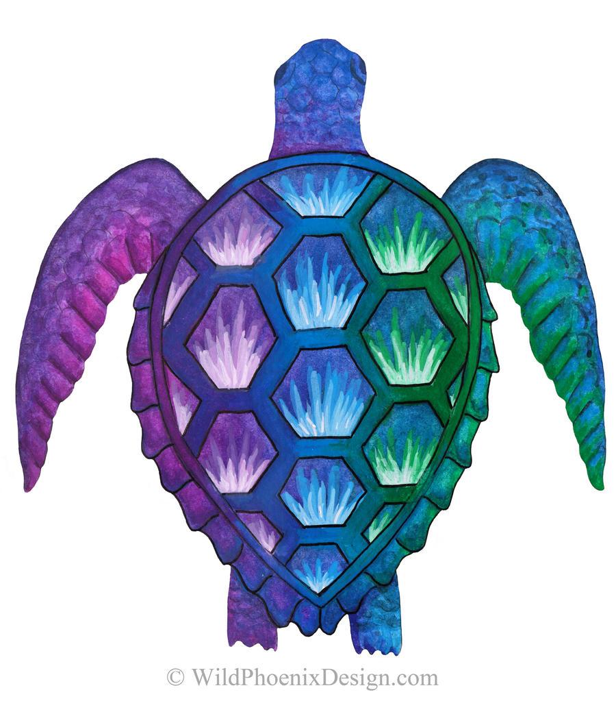 Technicolor Turtle
