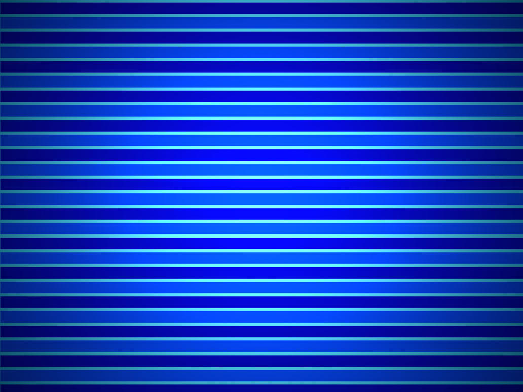Blue Horizontal Stripes By Vudin