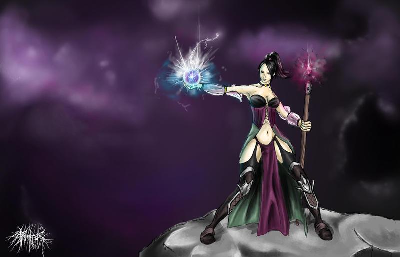 Diablo 3 Wizard by Pontoonen