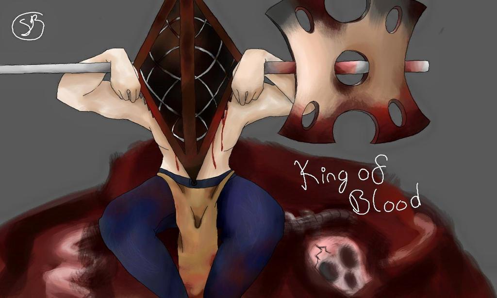 Vexagor: King of Blood by AkumaToraTheDemon