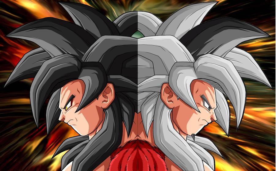 Goku y Zaiko ssj4 by theothersmen on DeviantArt