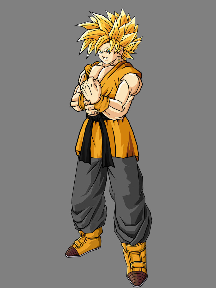 Teen Trunten SSJ by theothersmen