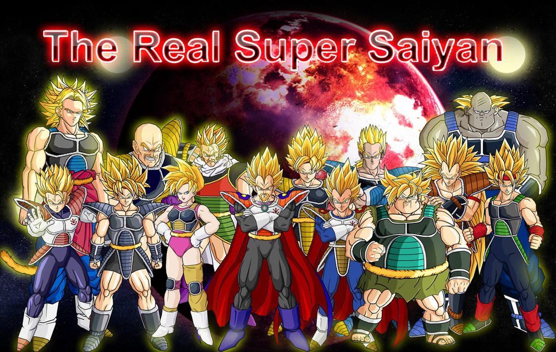 The Real Super Saiyan by theothersmen
