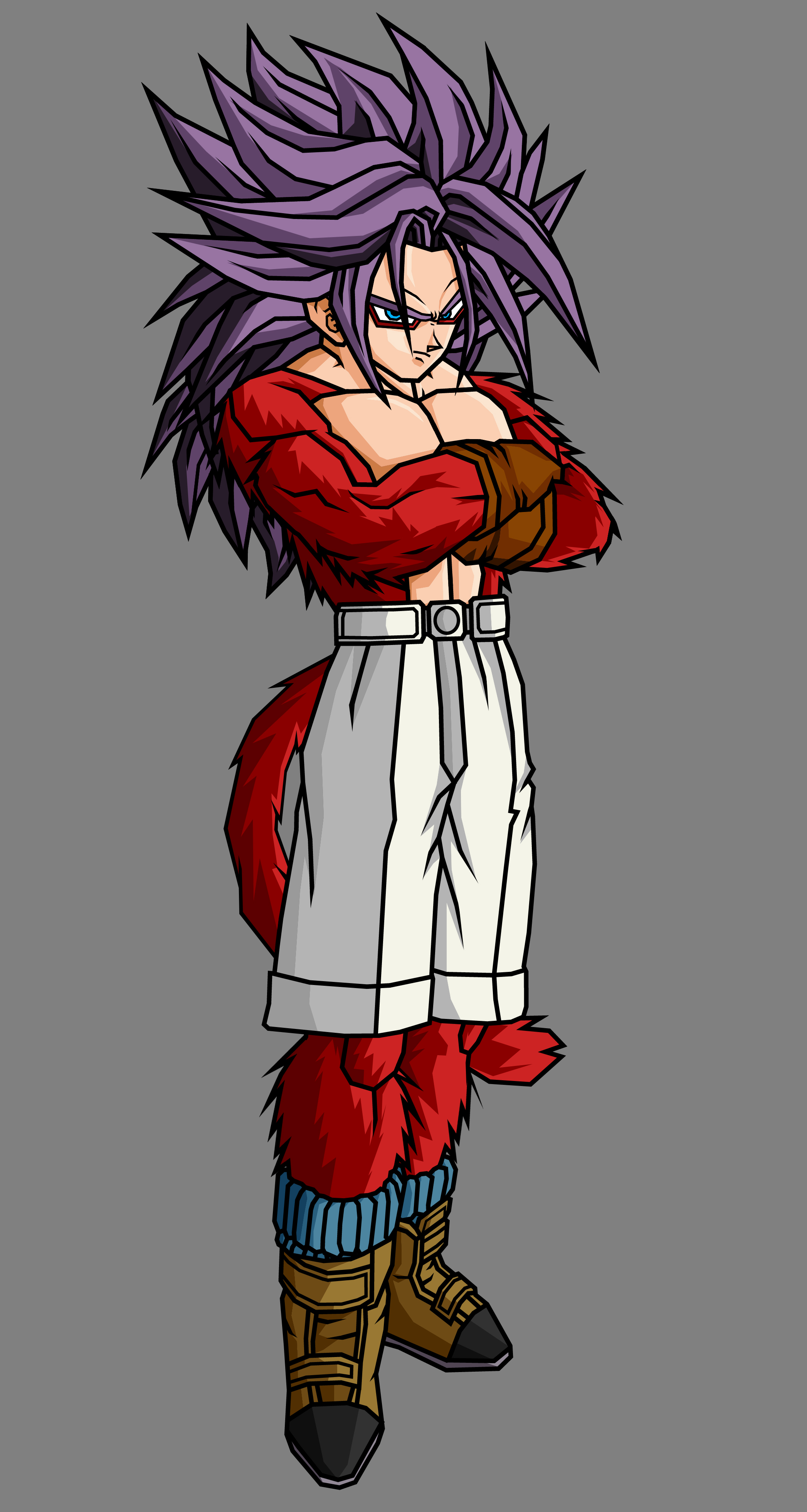 Trunks GT SSJ4 V2 by theothersmen