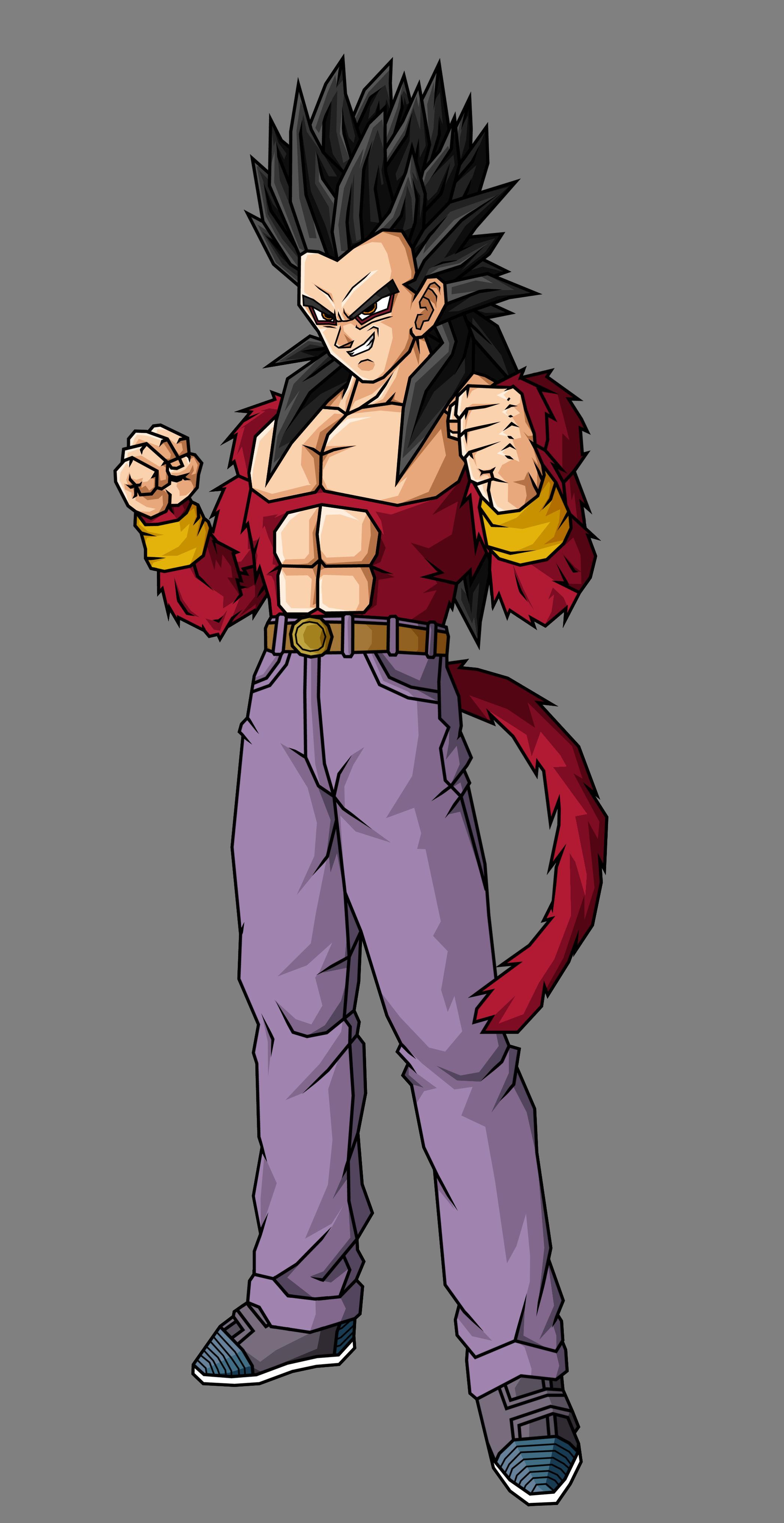 Goten Ssj4 Dragon Ball Español Amino