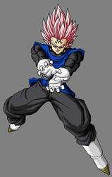 Majin Black Vegetto SSJ Rose