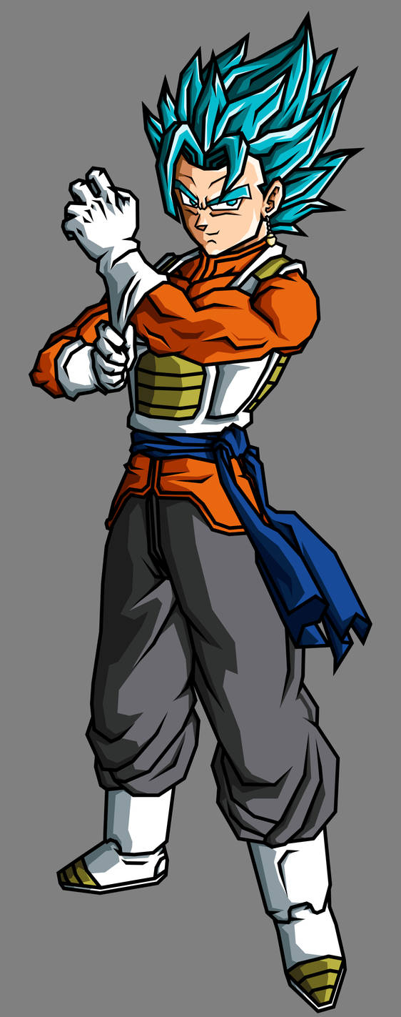 Vegetto SSJGSSJ by theothersmen
