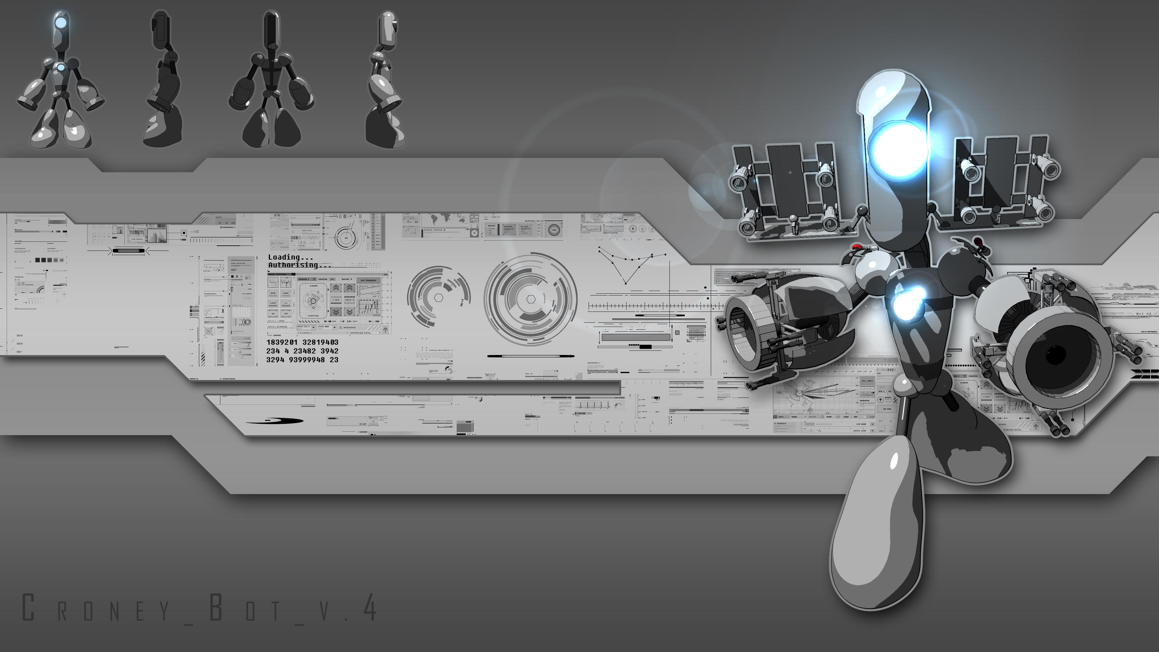 Croney Bot v4 Wallpaper