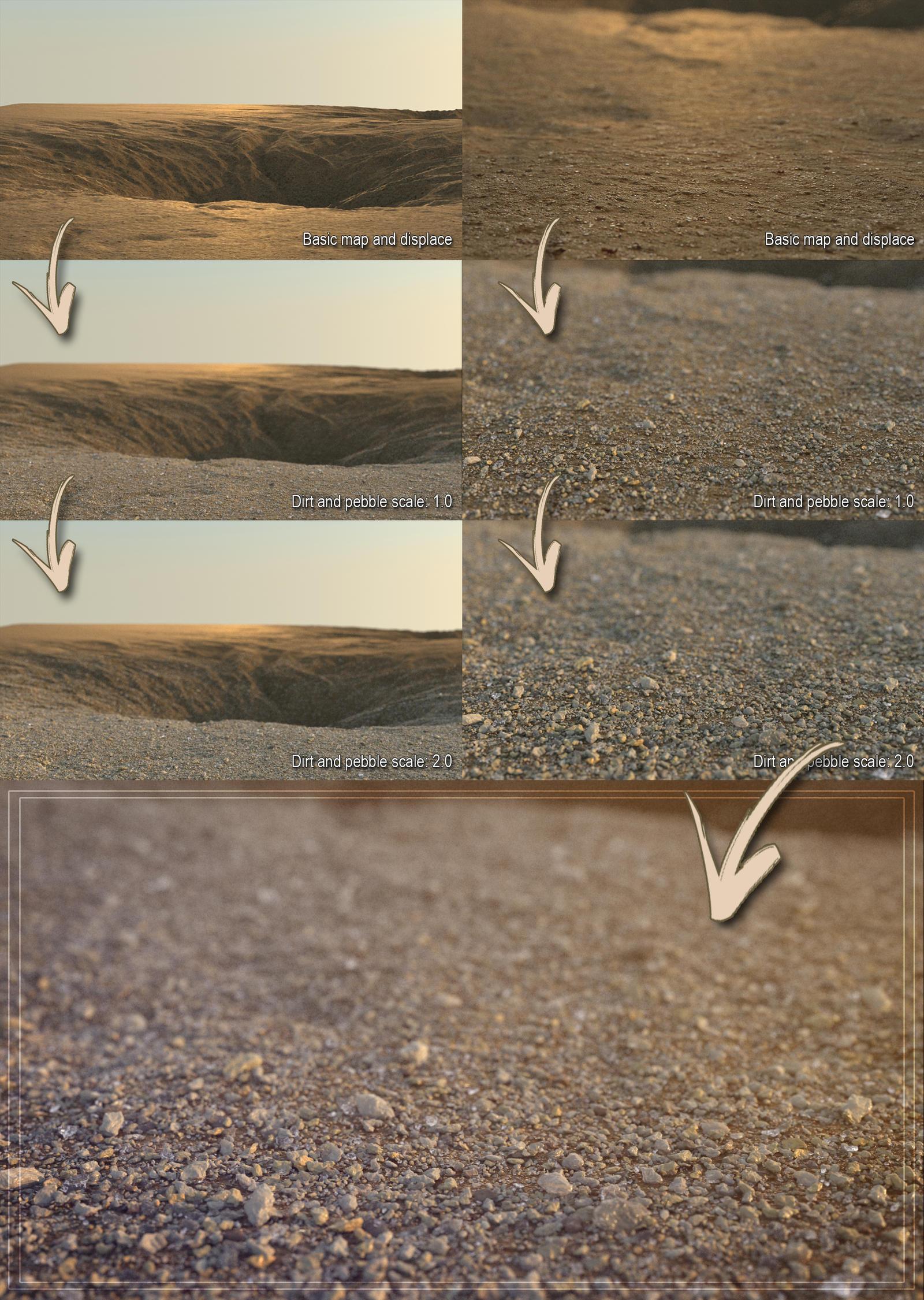 Realistic Dirt/Sand