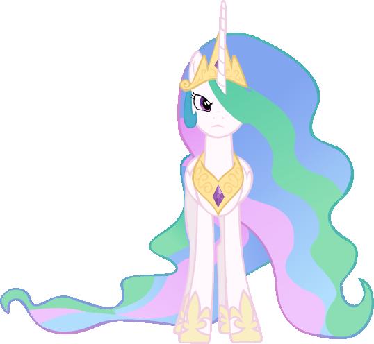 Angry Princess Celestia Princess Celestia Angry Vector