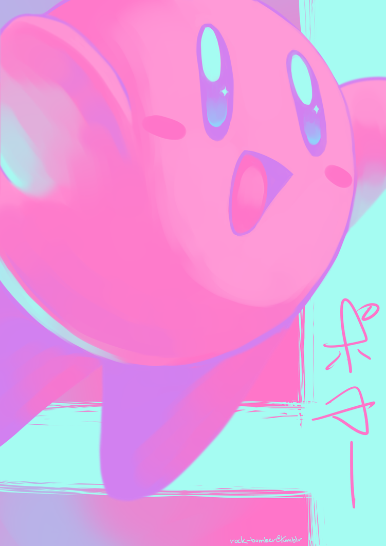 [SMASH Pallet Challenge] Kirby by Rock-Bomber
