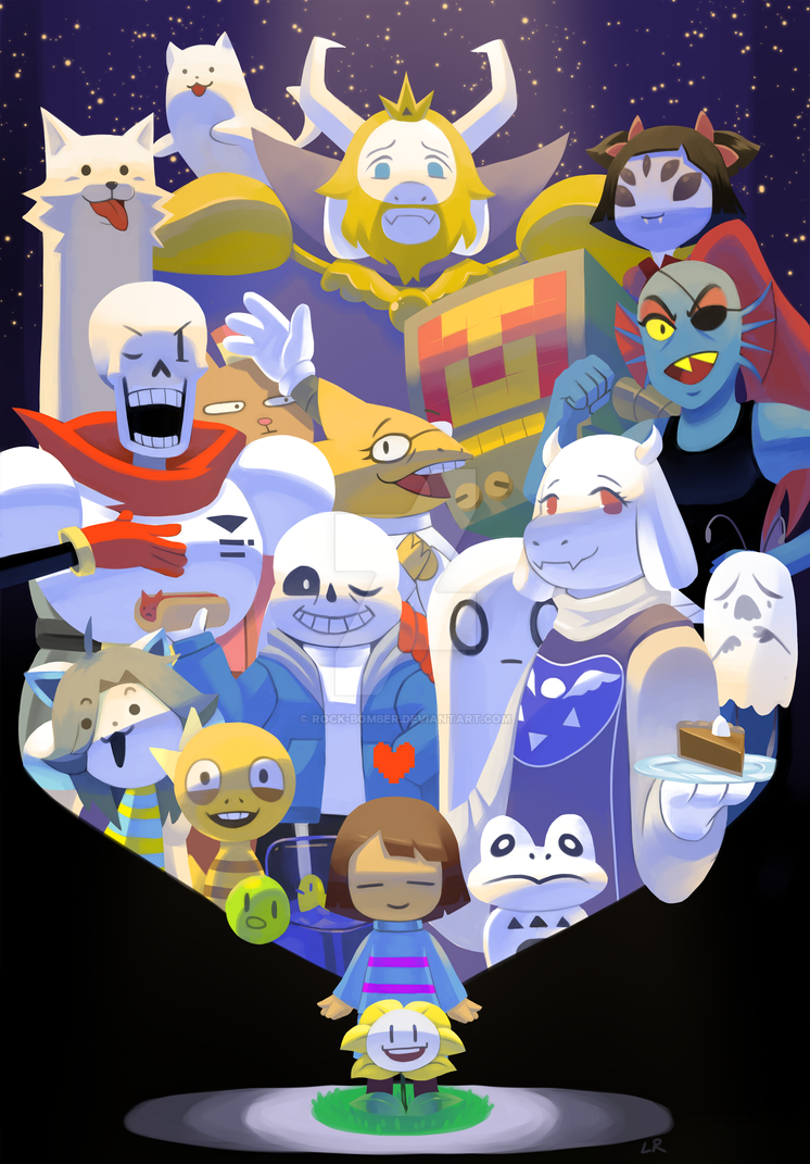 Undertale Anniversary by Rock-Bomber