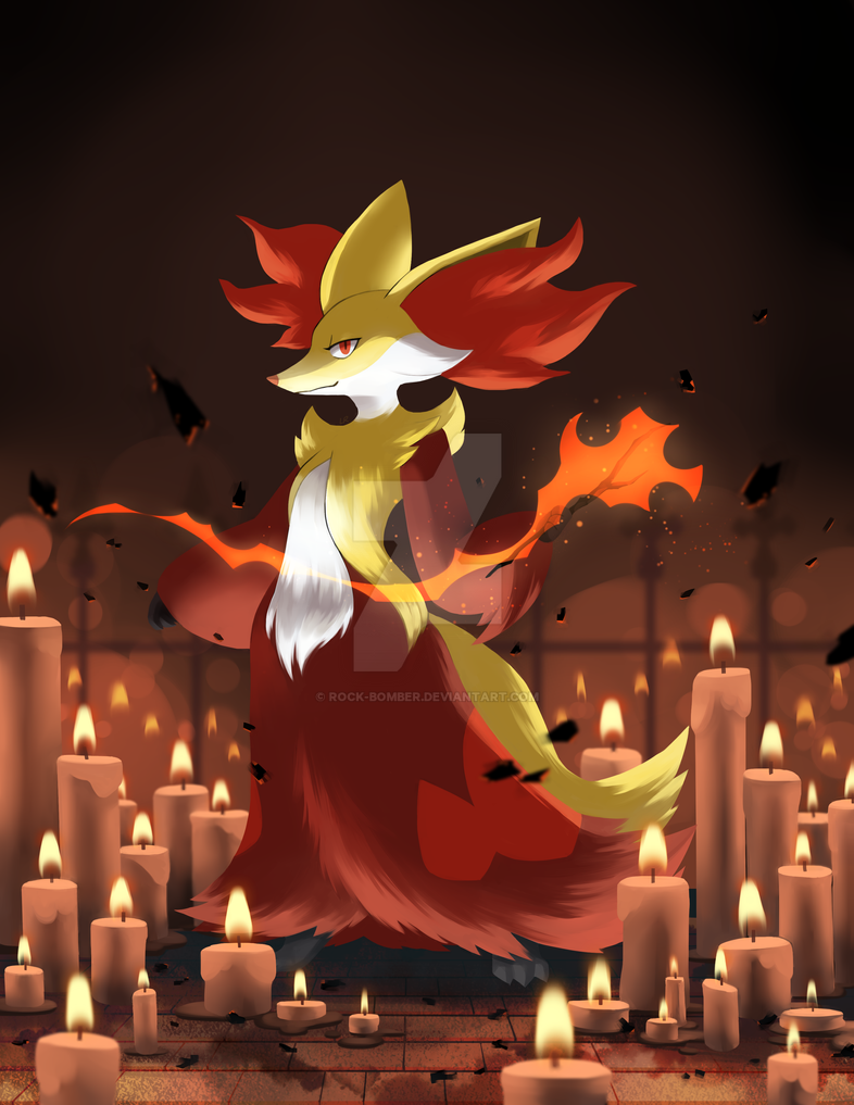 Day 5: Favorite Fire Type by Rock-Bomber