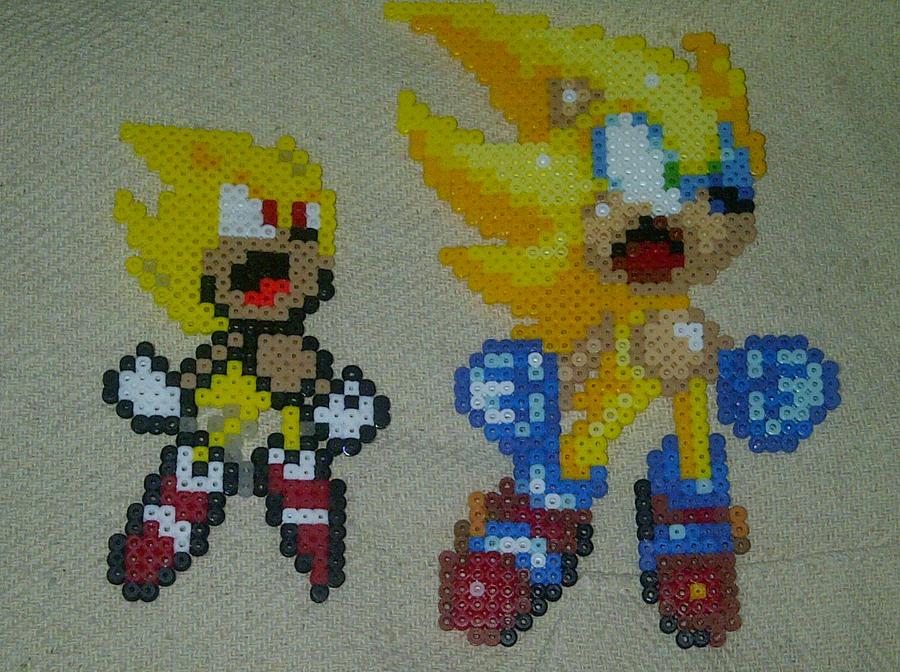 Super Sonic Perler