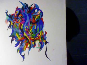 Nonsense drawing by LiLiTugger