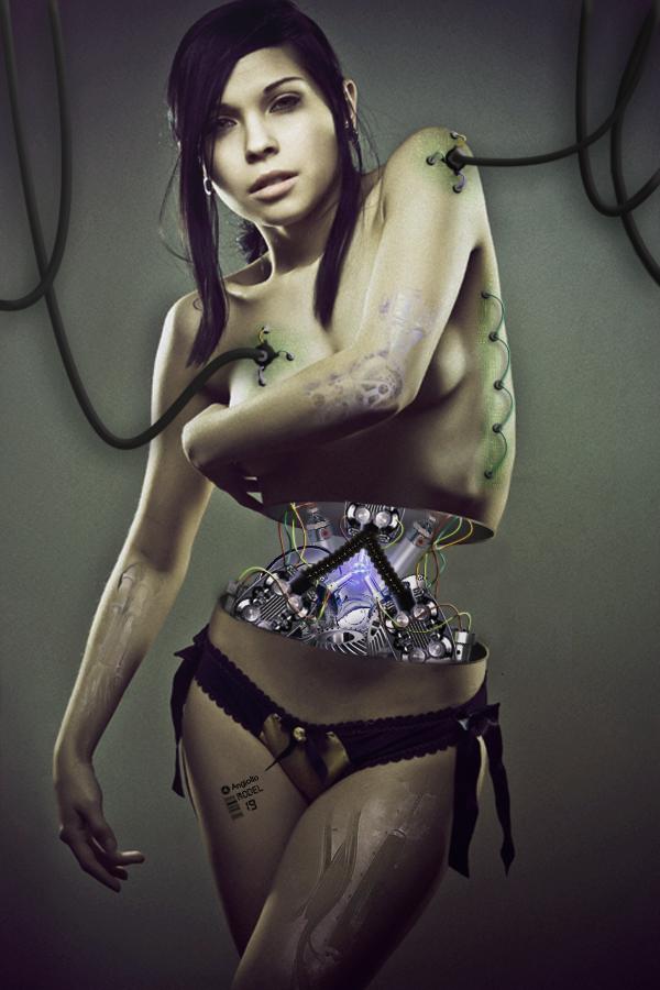 Cyborg by Xreaper19