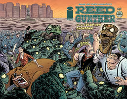 Reed Gunther 5 Cover by ReedGunther