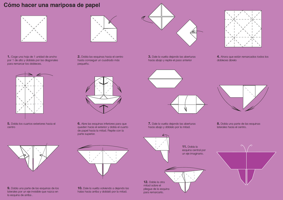 How to Make an Origami Butterfly by Lydilena on DeviantArt - photo#25
