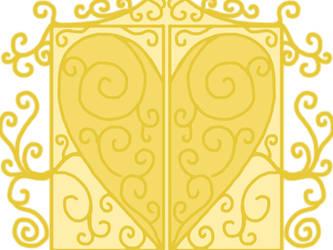 Ornate door by BewareTheKiller