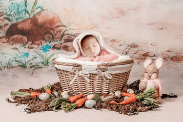 Easter baby girl