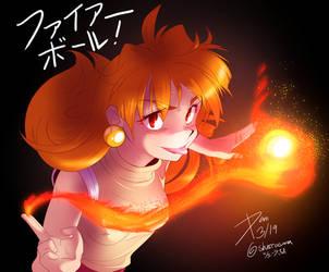 Fireball! by sherrasama