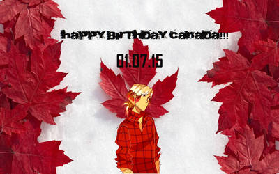 Happy BDAY Canada