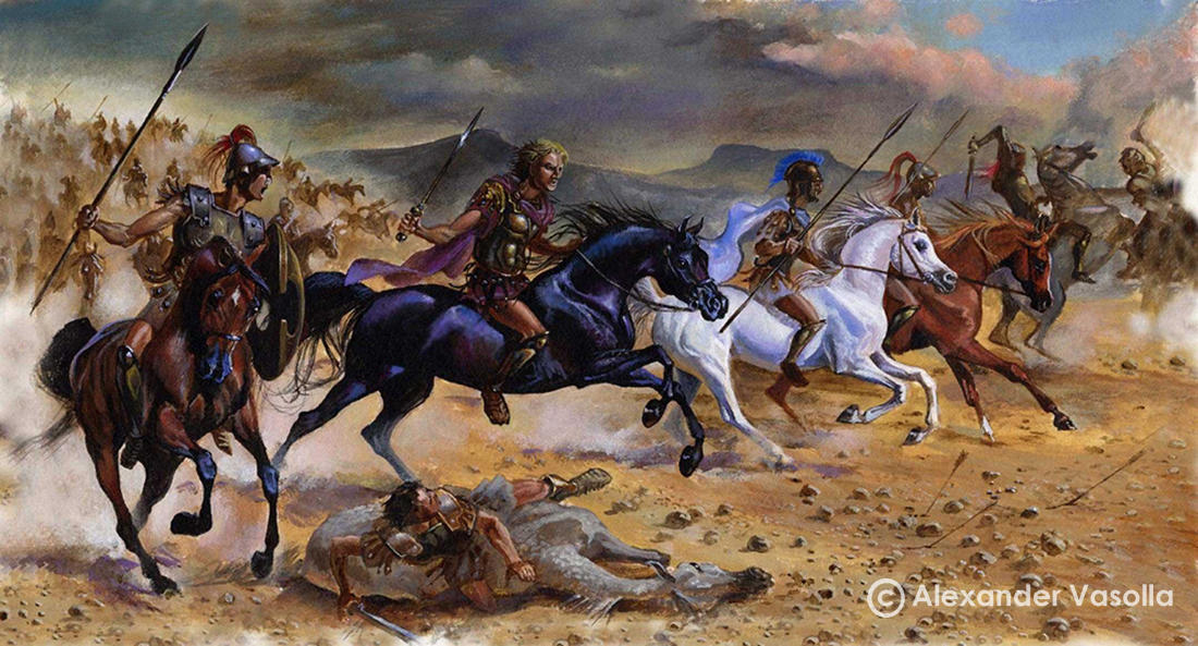 alexander the great gaugamela essay Free essay: king alexander at only 25 years old, his reputation already one of greatness had led his men into asia to his soldiers, their invasion of persia.