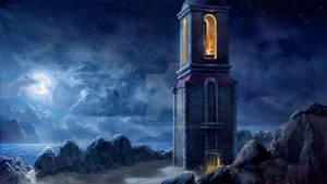 Blue Moon Lighthouse