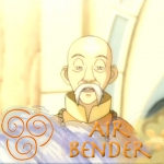 Gyatso -  Air bender by zuko990
