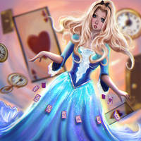 Alice In Wonderland by Castonia